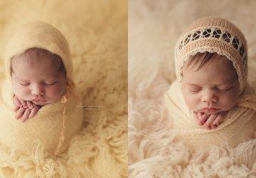 Sesión doble a dos muñequitas – Fotografía newborn Barcelona – Irene Nounou Photography