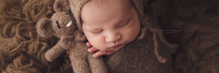 Sesión a un recién nacido de 9 días – Fotografía newborn Barcelona – Irene Nounou Photography